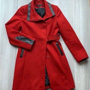 Beautiful deep red Via Spiga jacket. Size 2.